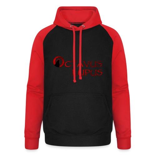 Octavus Lupus - Logo Rouge - Sweat-shirt baseball unisexe