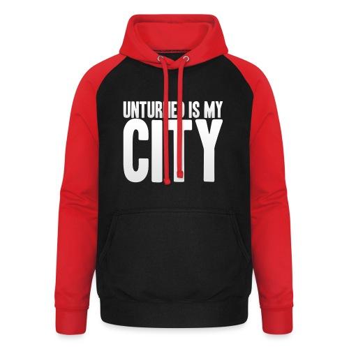 Unturned is my city - Unisex Baseball Hoodie
