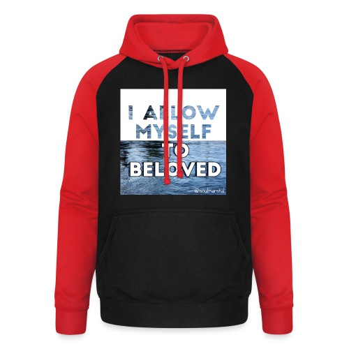 I Allow Myself To Beloved - Unisex baseball-huppari