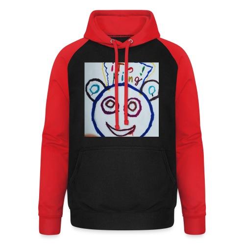 de panda beer - Unisex baseball hoodie