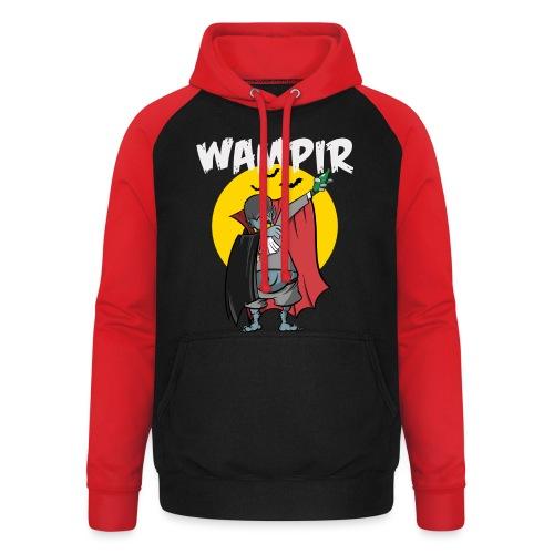 Wampir - lustiges Vampir Bierbauch Fun T-Shirt - Unisex Baseball Hoodie