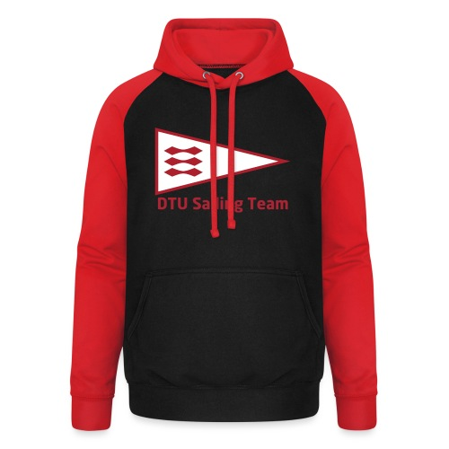 DTU Sailing Team Official Workout Weare - Unisex Baseball Hoodie