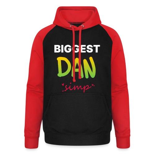 We all simp for Dan - Unisex baseball hoodie