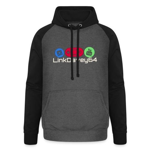 LinkDavey64 - Unisex baseball hoodie