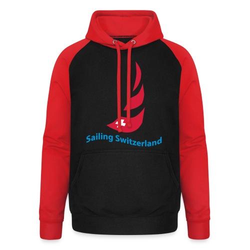 logo sailing switzerland - Unisex Baseball Hoodie