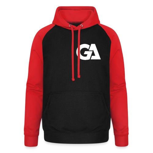 Gaming Alliance Wit - Unisex baseball hoodie