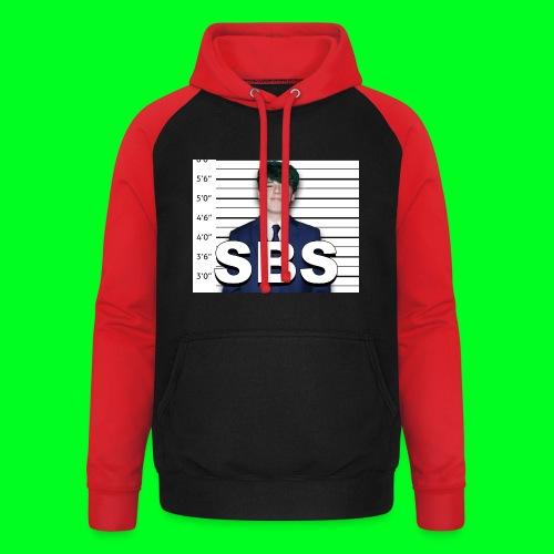 Mugshot SBS - Unisex Baseball Hoodie
