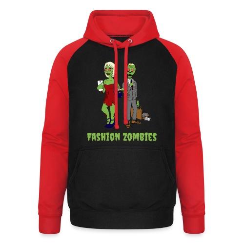 Fashion Zombie - Unisex Baseball Hoodie