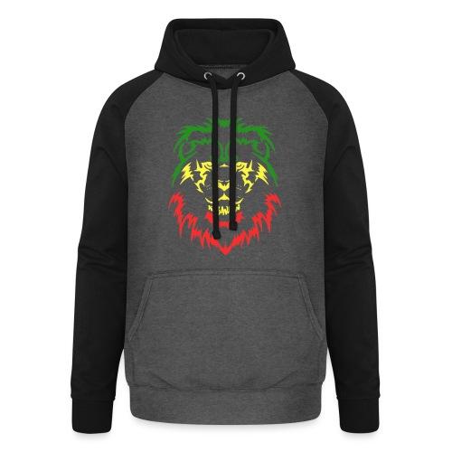 KARAVAAN Lion Reggae - Unisex baseball hoodie