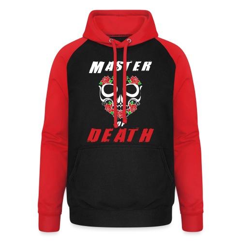Master of death - white - Bluza bejsbolowa typu unisex