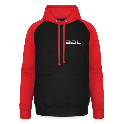 BDL lyhenne - Unisex baseball-huppari