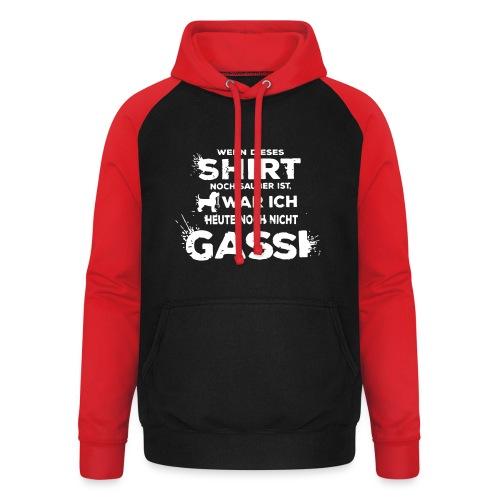 Gassi sauber Shirt - Unisex Baseball Hoodie