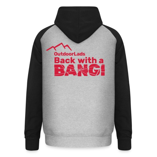 OutdoorLads Back With A Bang - Unisex Baseball Hoodie