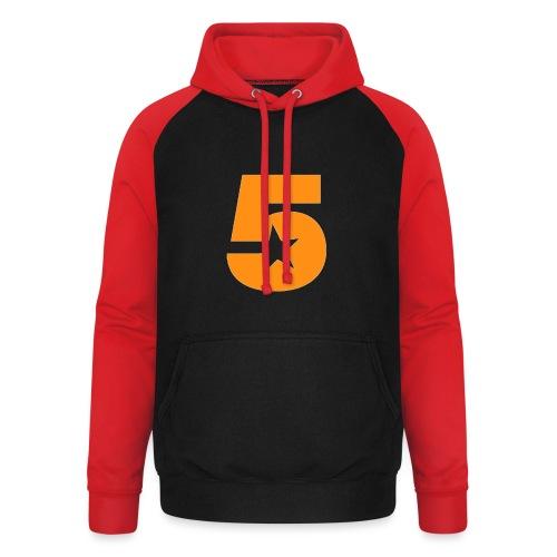 No5 - Unisex Baseball Hoodie