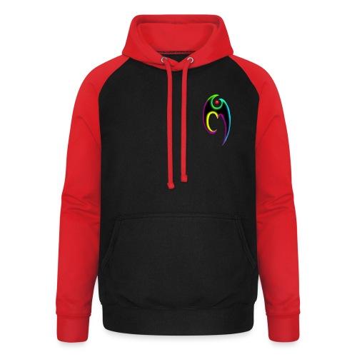Logo Yumegame - Sudadera con capucha de béisbol unisex