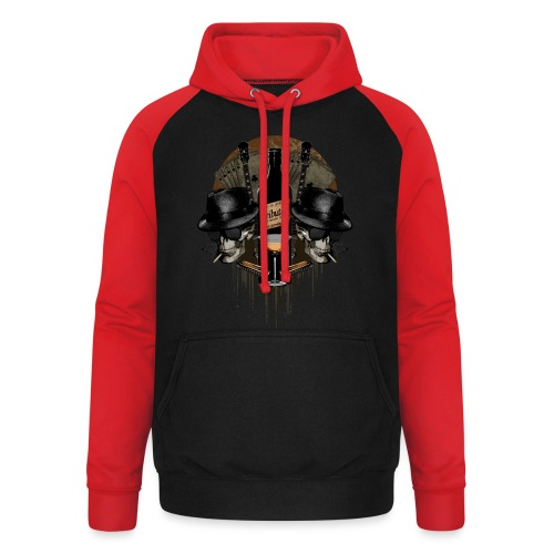 Death Blues by BY TRIBUTICA® - Unisex Baseball Hoodie