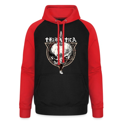 Death Attack by BY TRIBUTICA® - Unisex Baseball Hoodie