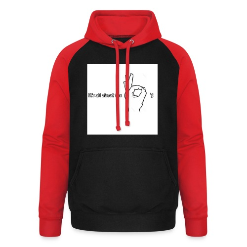 All about the - Unisex Baseball Hoodie