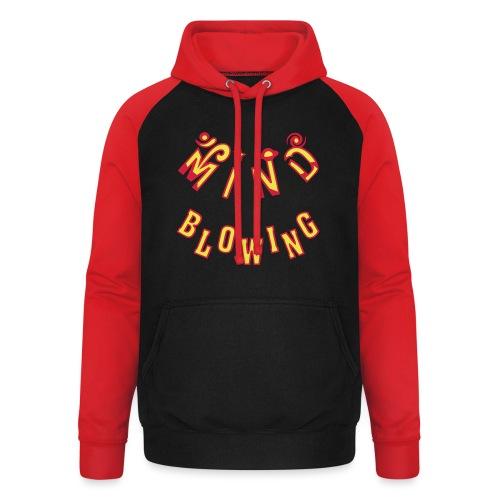 Mind Blowing - Unisex baseball hoodie