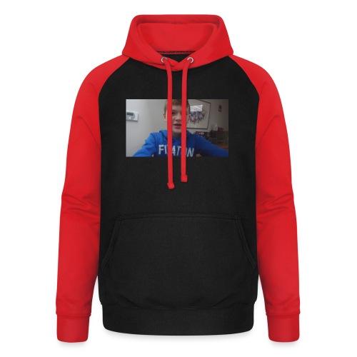 roel t-shirt - Unisex baseball hoodie
