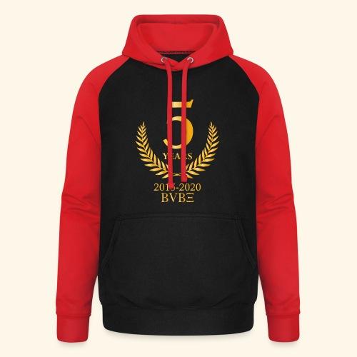 BVBE 5Y shirt 3 - Unisex Baseball Hoodie