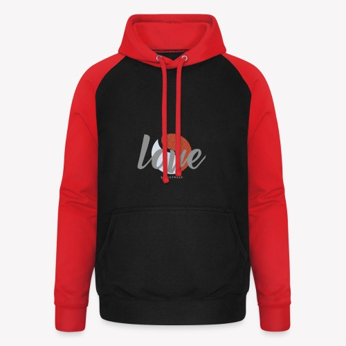 LOVE street wear - Sweat-shirt baseball unisexe