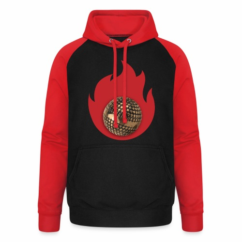 petanque fire - Sweat-shirt baseball unisexe