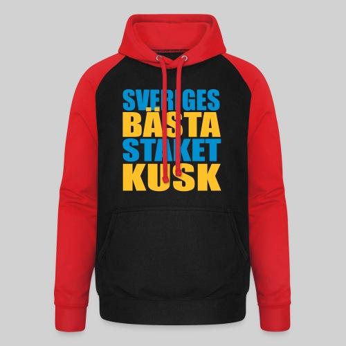 Sveriges bästa staketkusk! - Basebolluvtröja unisex