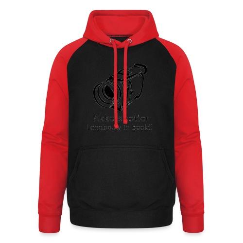 Logo akkerspotter - Unisex baseball hoodie