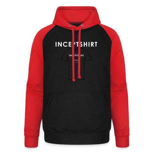 Inceptshirt - Sweat-shirt baseball unisexe