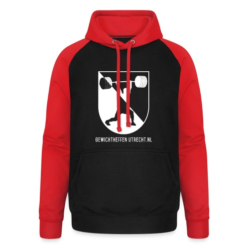 Modern Logo - Unisex baseball hoodie