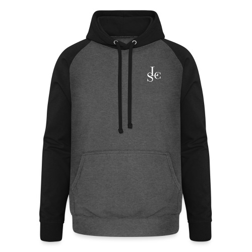 LSC white - Unisex baseball hoodie