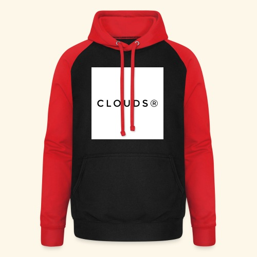 Clouds 01 - Unisex Baseball Hoodie