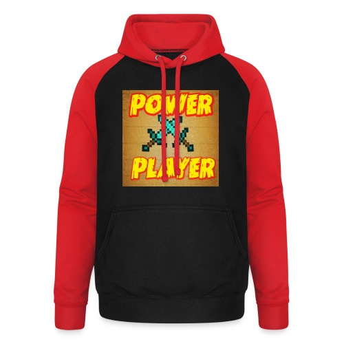 NUOVA LINEA POWER PLAYER - Felpa da baseball con cappuccio unisex