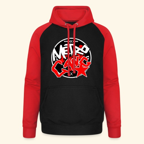 METRO GANG LIFESTYLE - Unisex Baseball Hoodie
