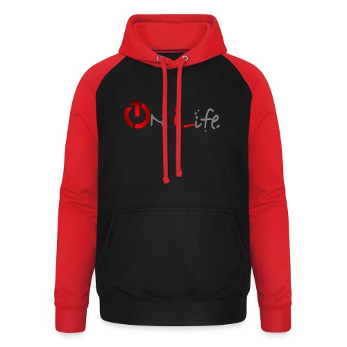 OnLife Logo - Sweat-shirt baseball unisexe