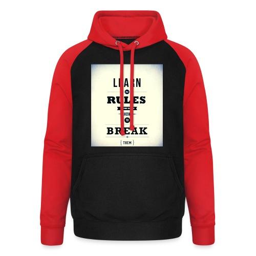 RULES - Unisex baseball hoodie