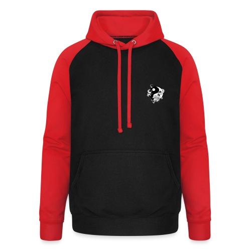 bewegen met passie - Unisex baseball hoodie