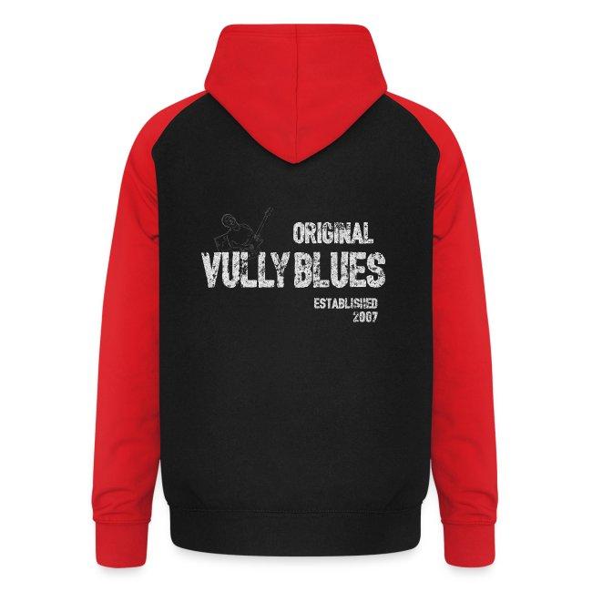 Guitare poitrine / Vully Blues Original blanc dos