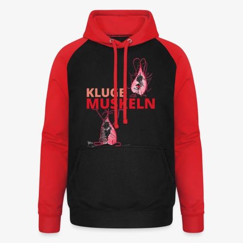 Kluge Muskeln - Unisex Baseball Hoodie