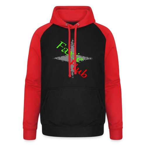 FaxieHub - Unisex baseball hoodie