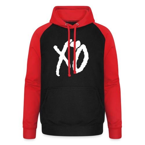XO - Unisex baseball hoodie