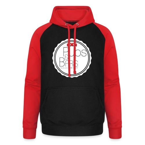 PubsnBars - Unisex baseball hoodie