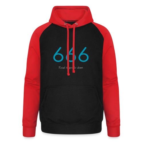 666 and 999 - Basebolluvtröja unisex