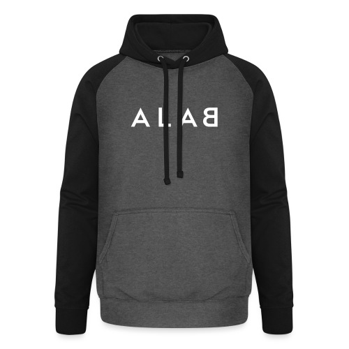 ALAB - Felpa da baseball con cappuccio unisex