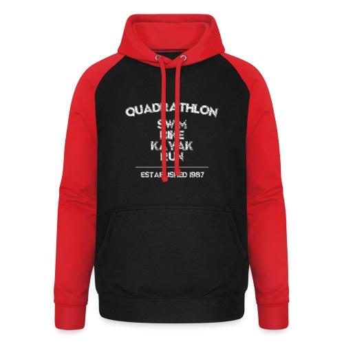 Quadrathlon1987w - Unisex Baseball Hoodie