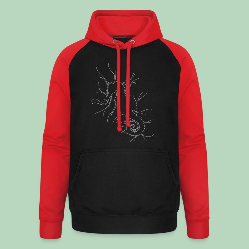 Zeepaardje Seahorse - Unisex baseball hoodie
