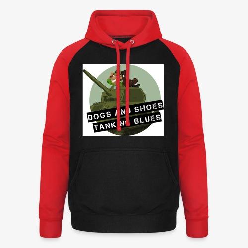 logo dogs nieuw - Unisex baseball hoodie