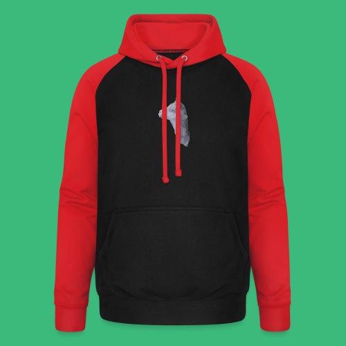 Lama KristalArt / alle kleuren - Unisex baseball hoodie