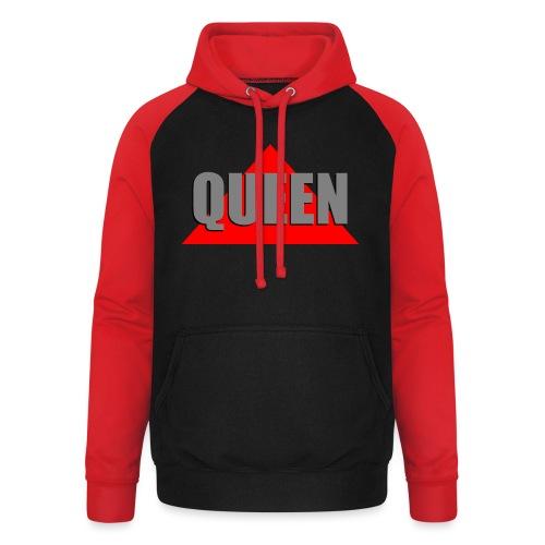 Queen, by SBDesigns - Sweat-shirt baseball unisexe
